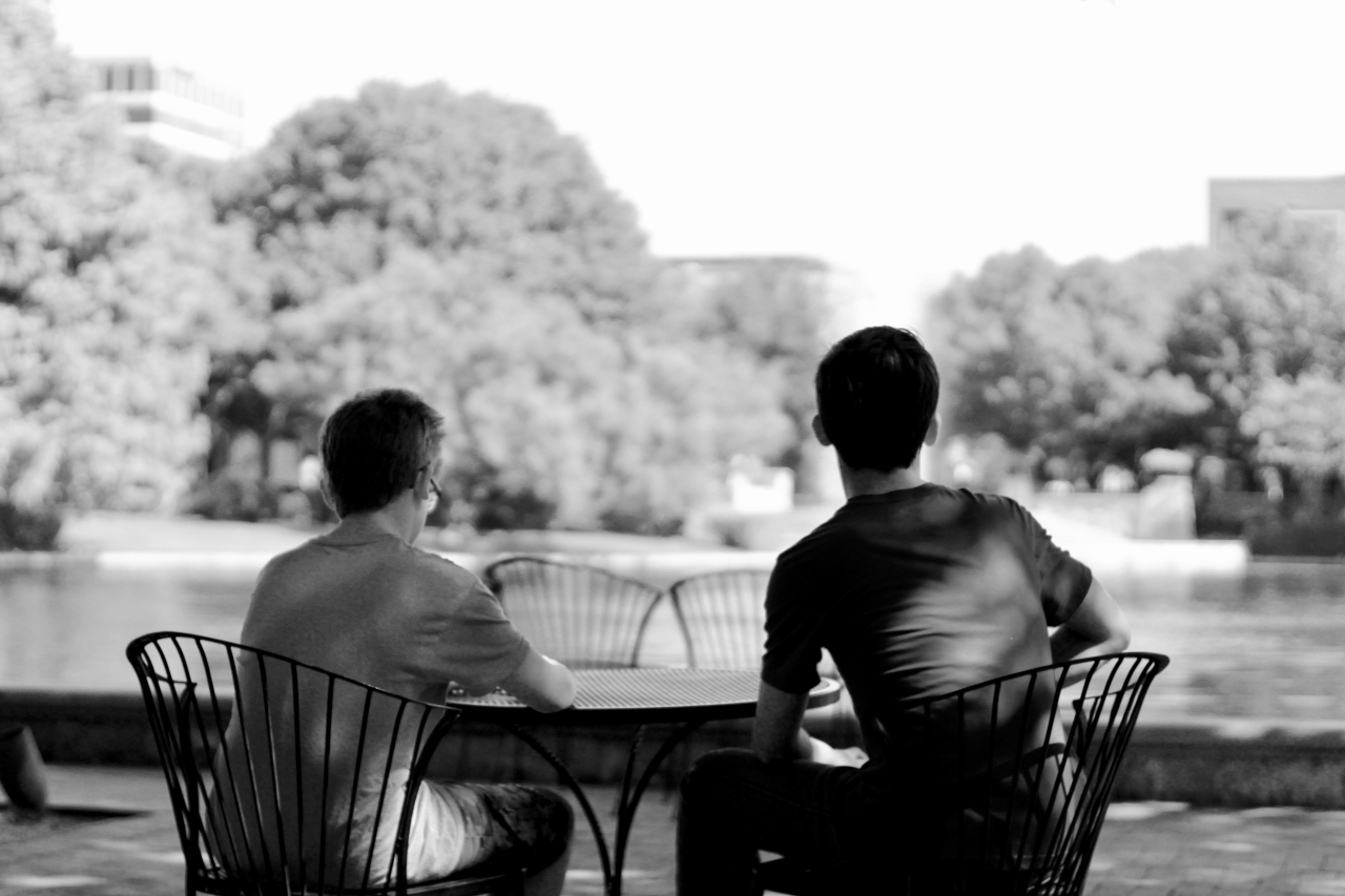 Contemplating Bishop Park
