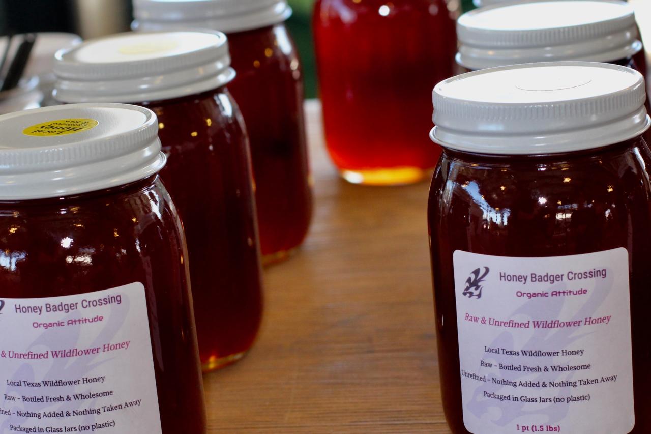 Local Honey: Frisco Farmers'Market