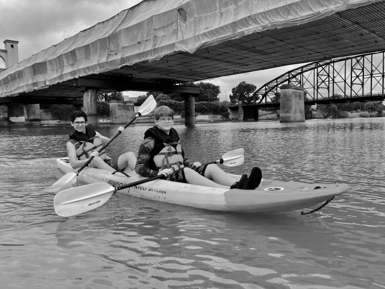 Kayaking On theBrazos