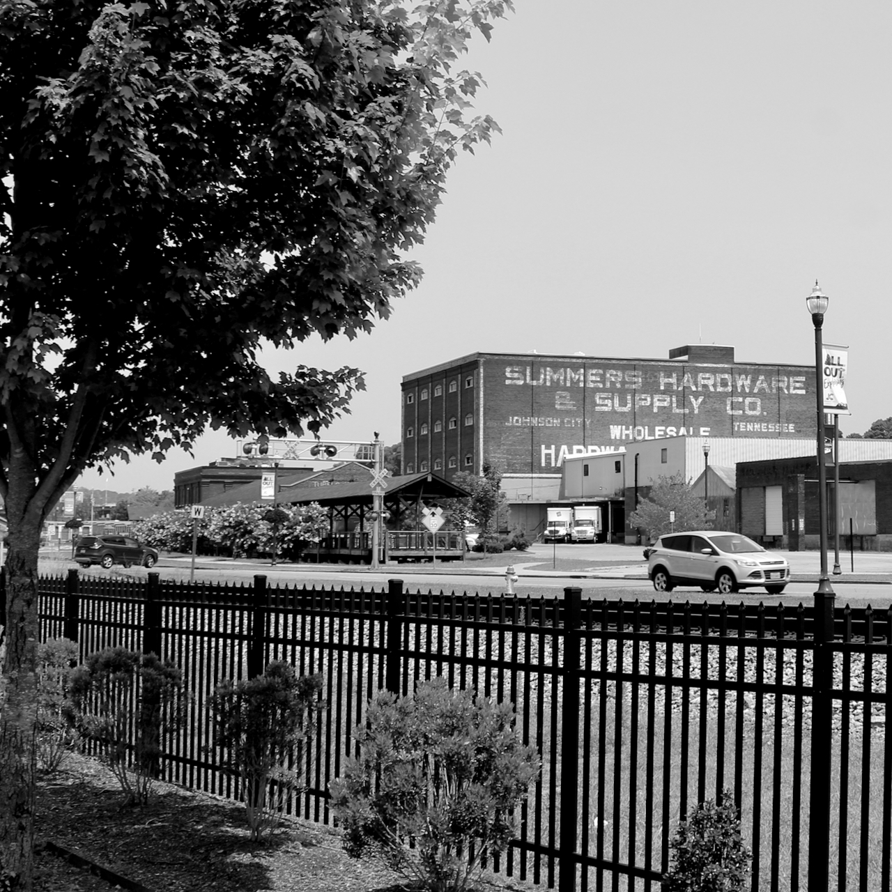 Monochrome Monday — Views from FoundersPark