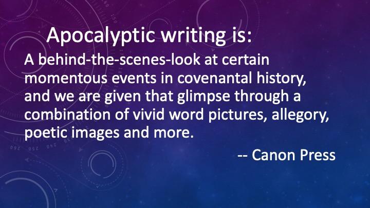 Apocalyptic Writing